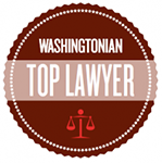 Washingtonian Top Lawyer Badge